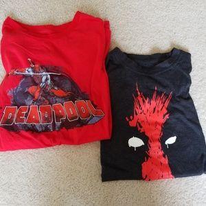 Marvel Deadpool L/XL Set